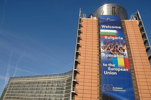 Berlaymont-bygningen i Brussel 15. desember 2006 (foto: EU-kommisjonen)