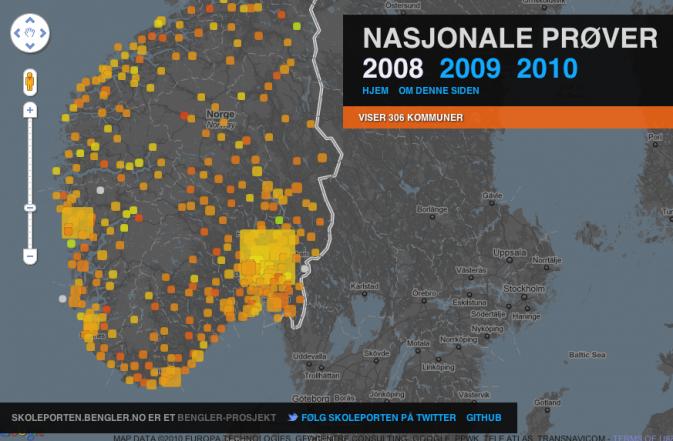 Nasjonale prøver -- datajournalistikk i praksis