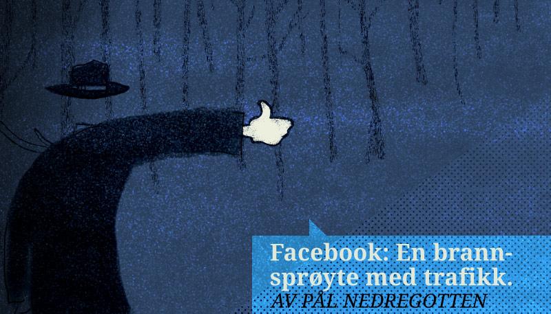 Facebook: En brannsprøyte med trafikk. Eller hvordan det nå var.