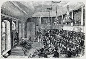 Stortinget for åpne dører: «En Grundsætning i vores Statsforfatning»