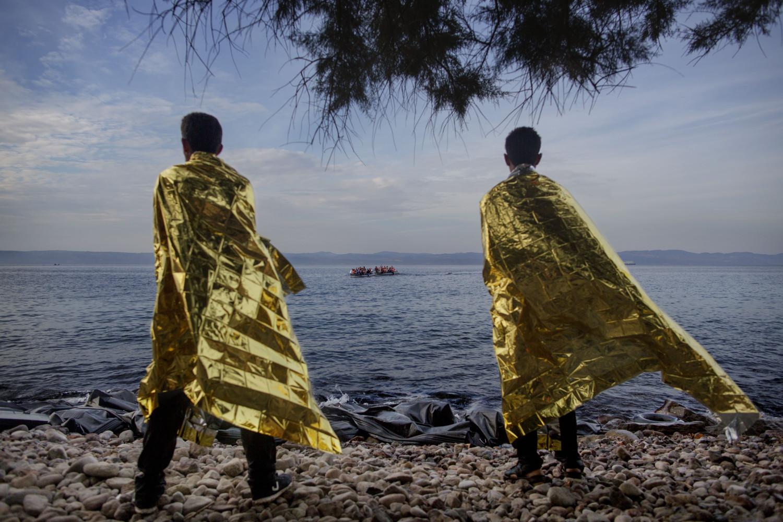 Flukten til Europa (Foto: Espen Rasmussen)