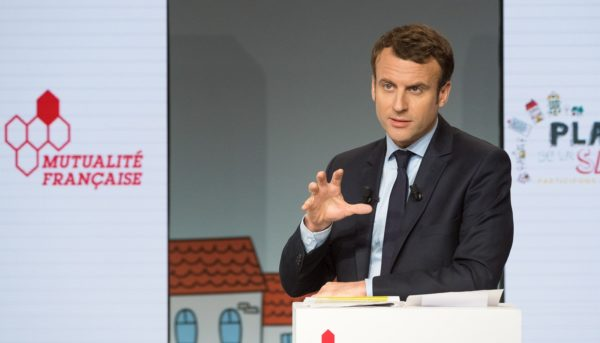 Emmanuel Macron og de franske splittelsene om Europa
