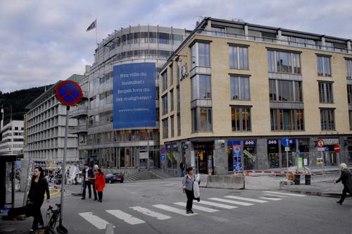 BT-huset i Bergen: Uinntakelig festning? (foto: Vegard Valde).
