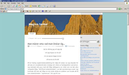 Magnus Ljungkvists blogg