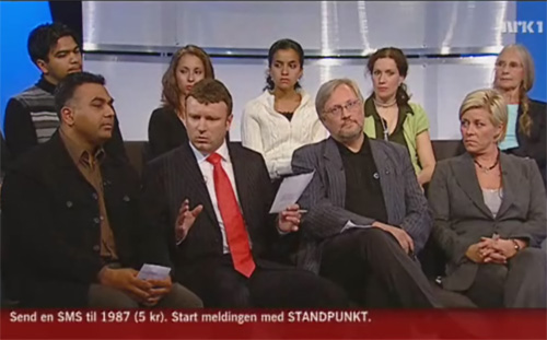 NRK Standpunkt 19. september 2006.
