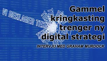 Stor sjanse, dårlig tid for NRK på nettet