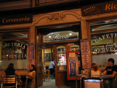 Europeisk offentlighet? Kafe i Madrid (foto: jeffc5000. CC:by-nc-sa)