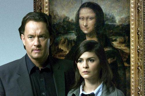 """Tom Hanks og Audrey Tautou i """"Da Vinci-koden"""" (foto: Sony Pictures)"""