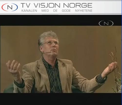 Fra TV Visjon Norge (skjermbilde).
