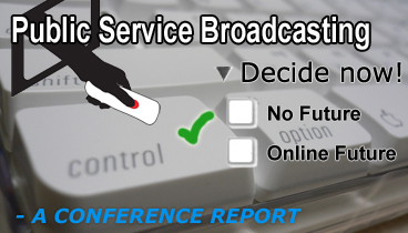Participation and web central to next generation public service broadcasting