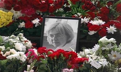 Anna Politkovskaja (1958-2006). Skjermbilde fra TV2-dokumentaren Makten og frykten (foto: TV2).