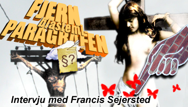Sejersted: Fjern blasfemiparagrafen