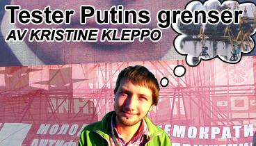 Uredd miljøaktivist tester grensene for demokrati iRussland
