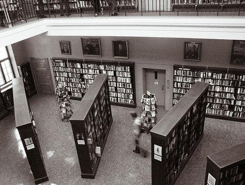 Fra  Bergen Offentlige Bibliotek (foto: -Kj.)