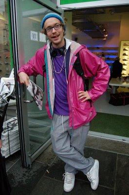 Og her har BrgnStil funnet Mario (19). (foto: Karoline Finnema).