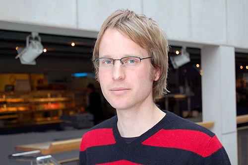 Thomas Keilman, Stiftelsen Ungdom og Forskning (foto: Olav A. Øvrebø)