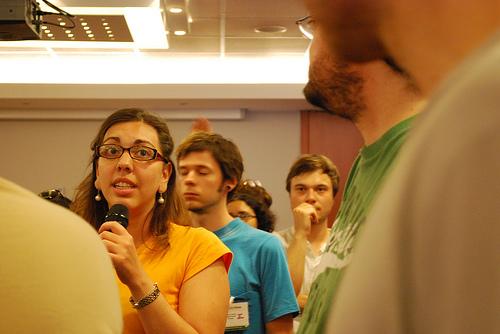 Fra Citizen Media Summit i Budapest, juni 2008 (foto: nehavish)