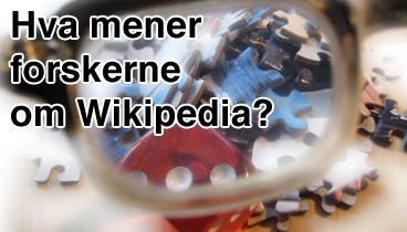 Hva mener forskerne om Wikipedia?