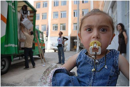 En humanitær løsning for Georgia