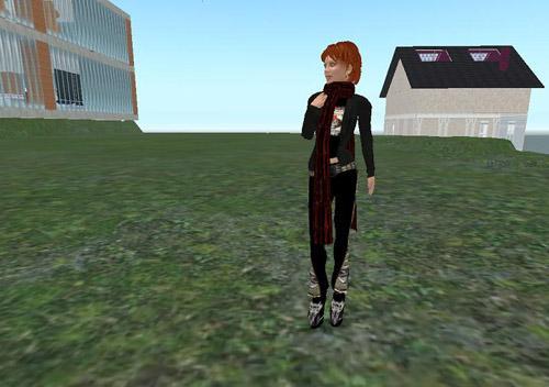 Pixeleen Mistral, journalistavatar (ill:: Second Life/Kristian Jensen)