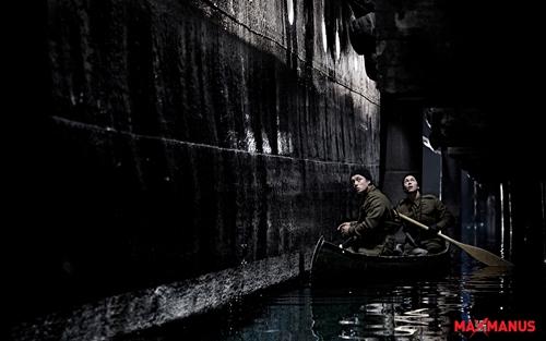 Sabotørene i aksjon på Oslo havn (foto: Filmens nettsider)