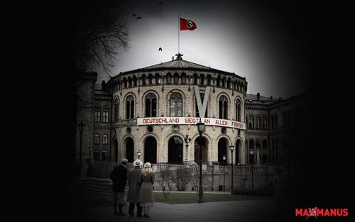 Stortinget som kulisse (foto: Filmens nettsider)