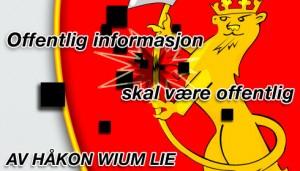 Offentlig informasjon skal være offentlig