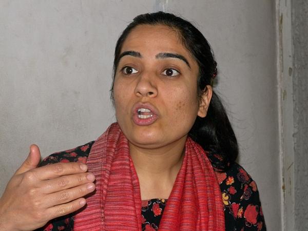 Malalai Joya - modig politiker (foto: Elisabeth Eide)