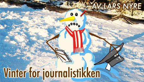 Vinter og kaldt inorsk journalistikk