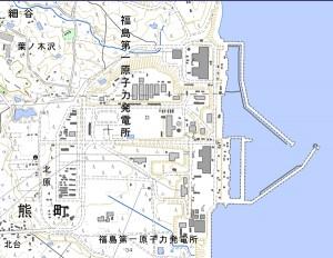 Deler data og kart om katastrofen i Japan
