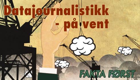 Redaktører hyller datajournalistikk, men satser ikkeselv