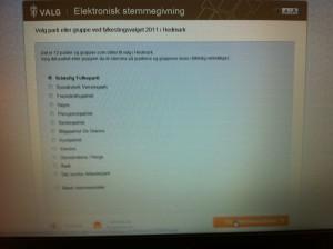 Hva skal vi med e-valg?