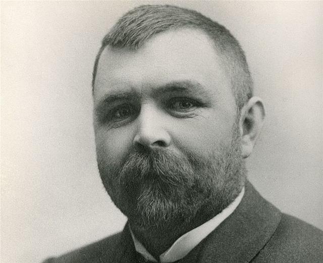 Haakon Nyhuus (1866-1913). Fotograf ukjent.