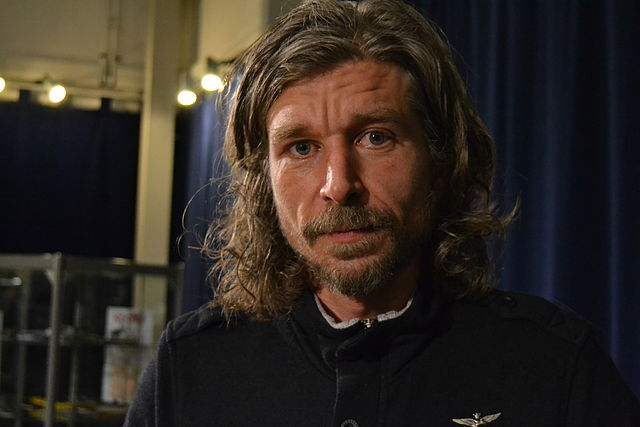 Karl Ove Knausgård - problematisk introvert vending? (foto: Robin Linderborg/Wikimedia Commons. CC: by)