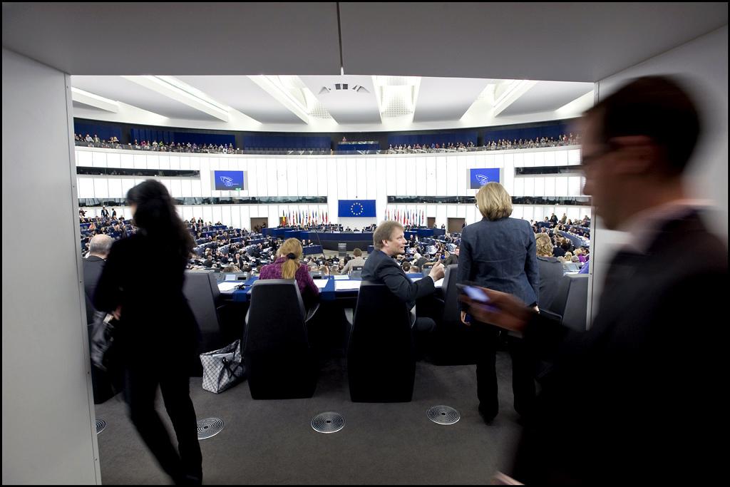 Mange av lovene Europaparlamentet vedtar tas inn i norsk lov via EØS-avtalen (foto: Europaparlamentet. CC: by-nc-nd)