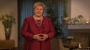 Erna Solberg nyttårstale