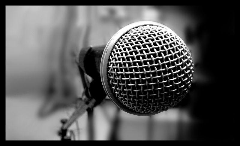 Åpen mikrofon på biblioteket?