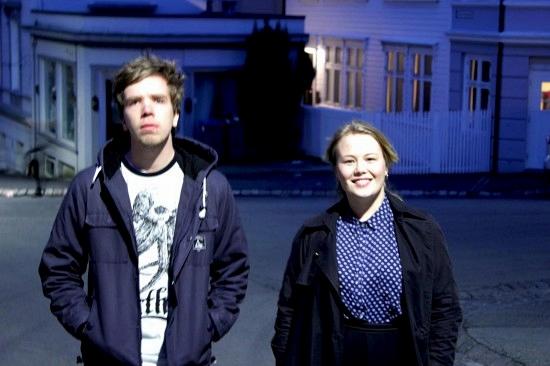 Lager Snitt: Medredaktør Tore Sandvik Monsen og ansvarlig redaktør Guro Holm Bergesen (foto: Robert Nedrejord)