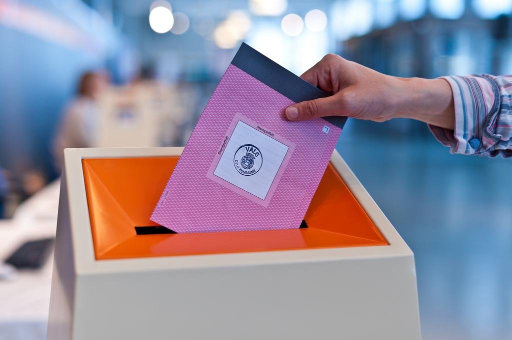 Valgurne brukt ved lokalvalget 2011.