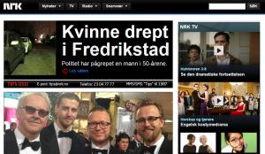 Drap, vold og NRK.no