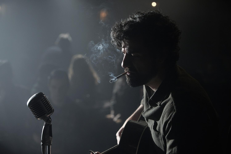 Oscar Isaac som Llewyn Davis (foto: Filmens nettside/Alison Rosa, Long Strange Trip LLC)