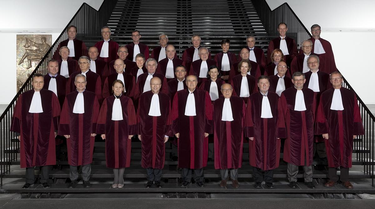 Dommerne ved EU-domstolen (foto: EU-domstolen).