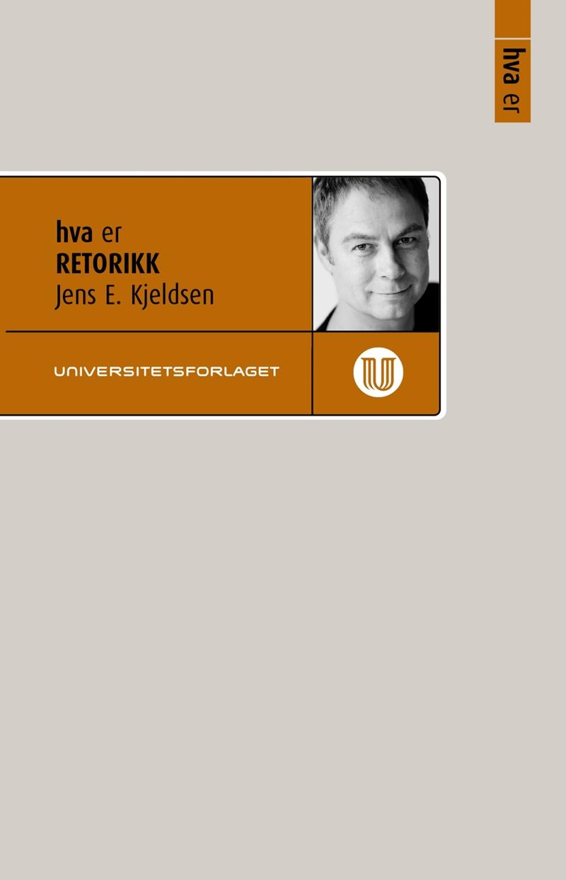 """Omslaget til boken """"Hva er retorikk""""."""