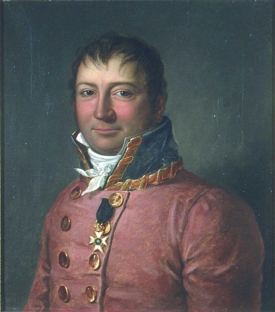 Wilhelm F.K. Christie malt av Jacob Munch (kilde: Eidsvoll 1814/Digitalt Museum)