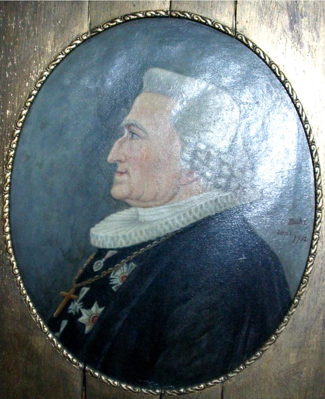 Johan Nordahl Brun, maleri i Domkirken i Bergen.