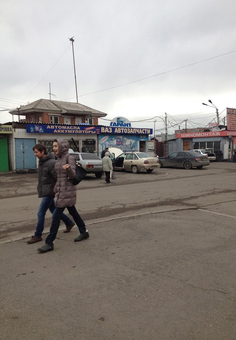 Krasnojarsk på gateplan (foto: Åshild Kanstad Johnsen)