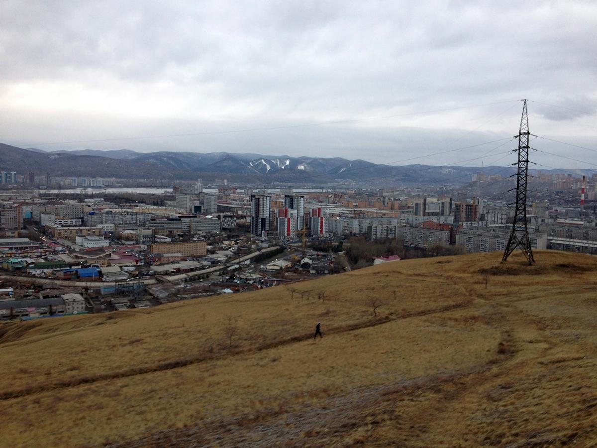 Krasnojarsk – millionby i Sibir (foto: Åshild Kanstad Johnsen).