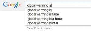 Google kan gjøre klimafornektere
