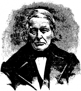 Bondepolitiker John Neergaard. Verdens Gang, 19. mai 1883.