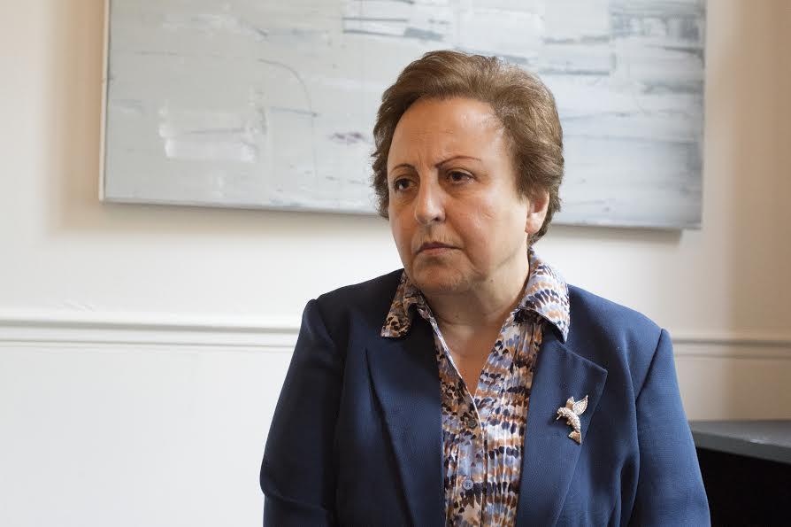 Shirin Ebadi: Kvinner skal få ta sine egne beslutninger. (foto: Lene Risholt Thorbjørnsen)